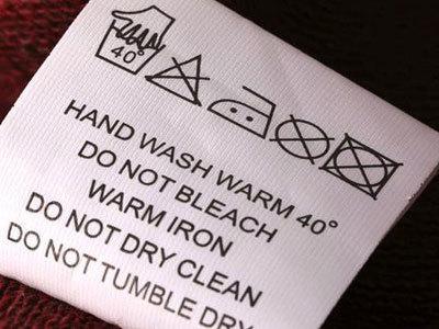 Wash Labels