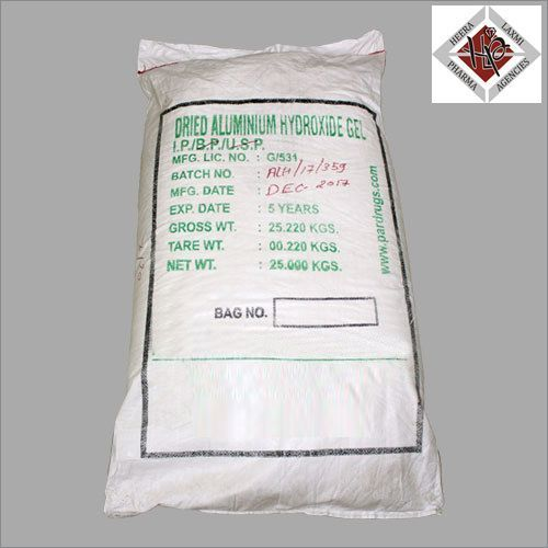 Dried Aluminium Hydroxide Gel Powder