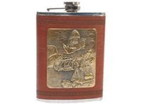 Designer Metal Hip Flask