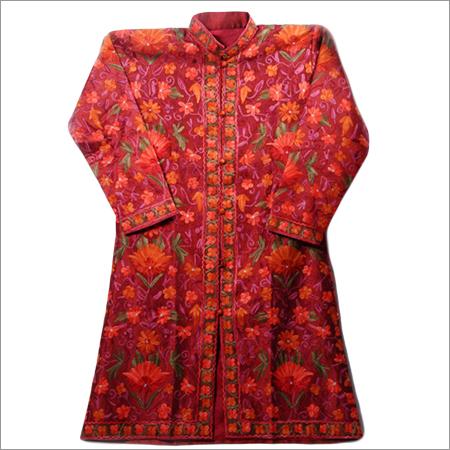 Silk Full Aari Work Jacket