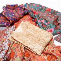 Silk Multi Color Full Aari Work Suits