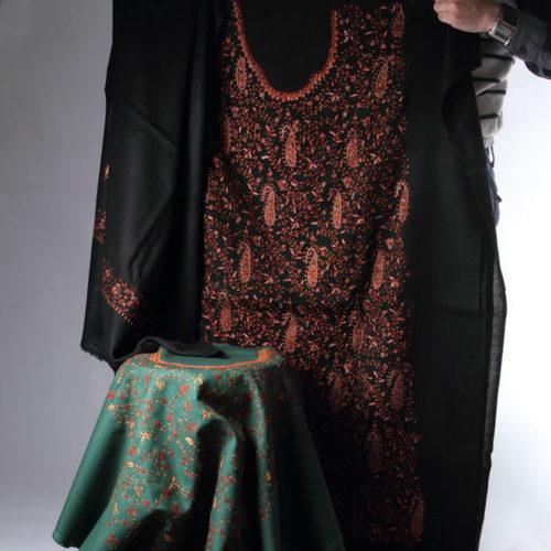 Multi Color Sozini Needle Suit