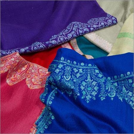 Needle Work Pashmina Shawls