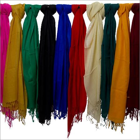 Multi Color Plain Woolen Shawls