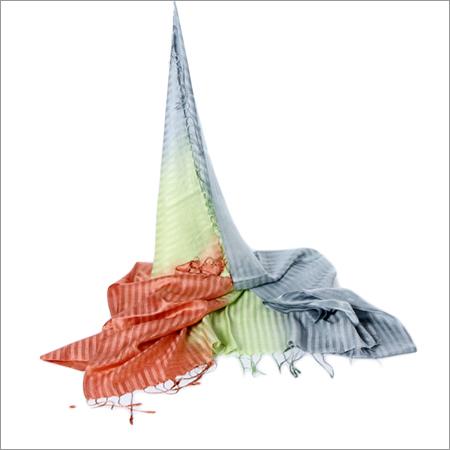 Silk Kattan Multi Color Stole