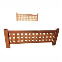 Fancy Customized Wooden Cot