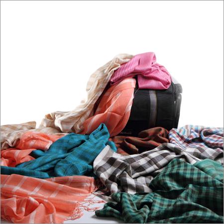 Check Strips Designer Woolen Stoles
