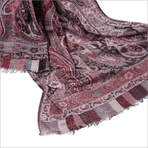 Jamawar Jacquard Designer Woolen Stoles