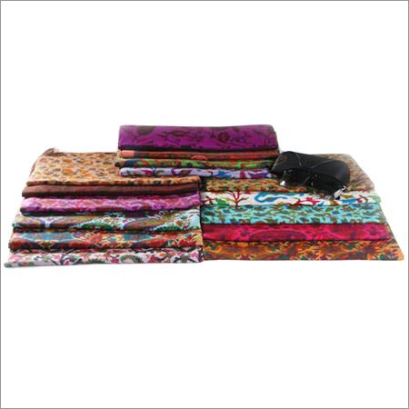 Printed Multi Color Designer Woolen Stoles