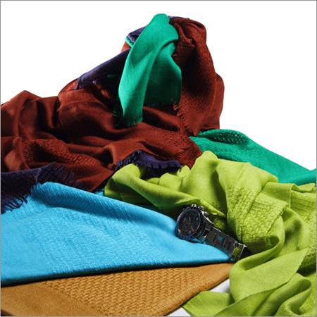 Honeycomb Multi Color Plain Woolen Stoles