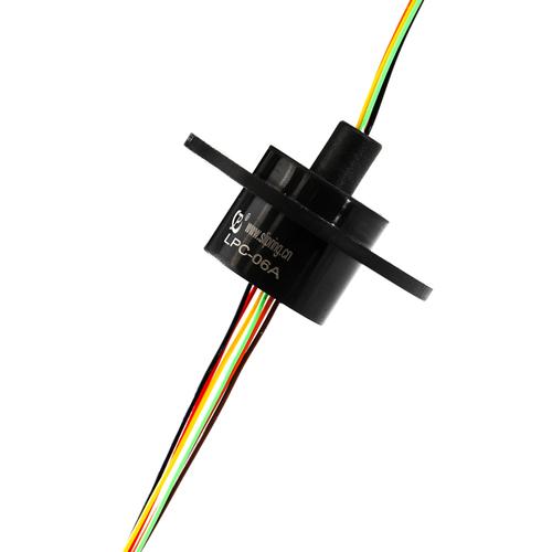 6 Circuits Capsule Slip Ring