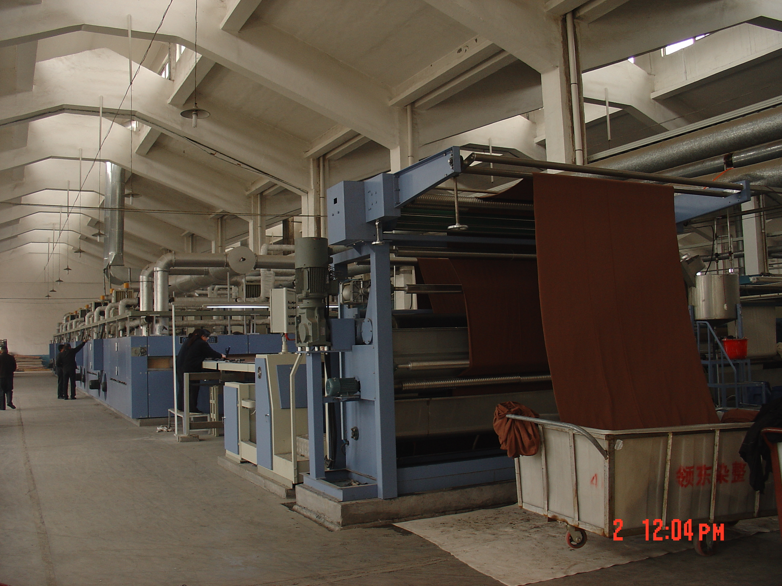 Stenter Setting Machine