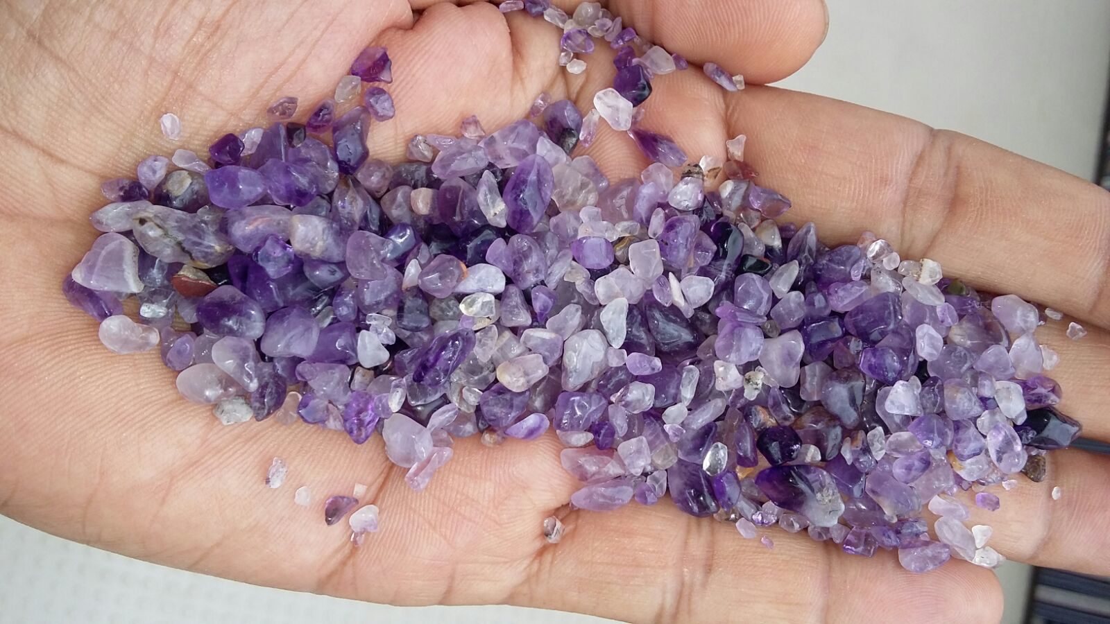 High Quality Jewelry Amethyst Purple Chips Stones