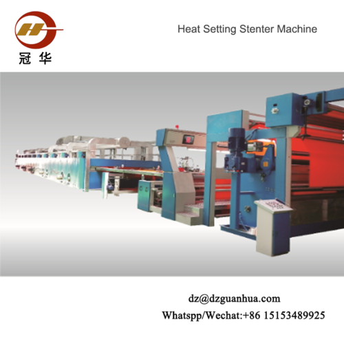 Hot Air Stenter Machinestenter Both Can Work For Weaving And Knitting Fabrics)