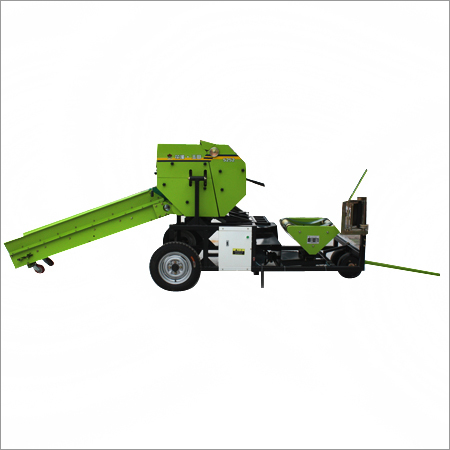 Semi Automatic Silage Baler Wrapper
