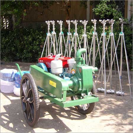 Diesel Engine Sprinkler Irrigation Machine