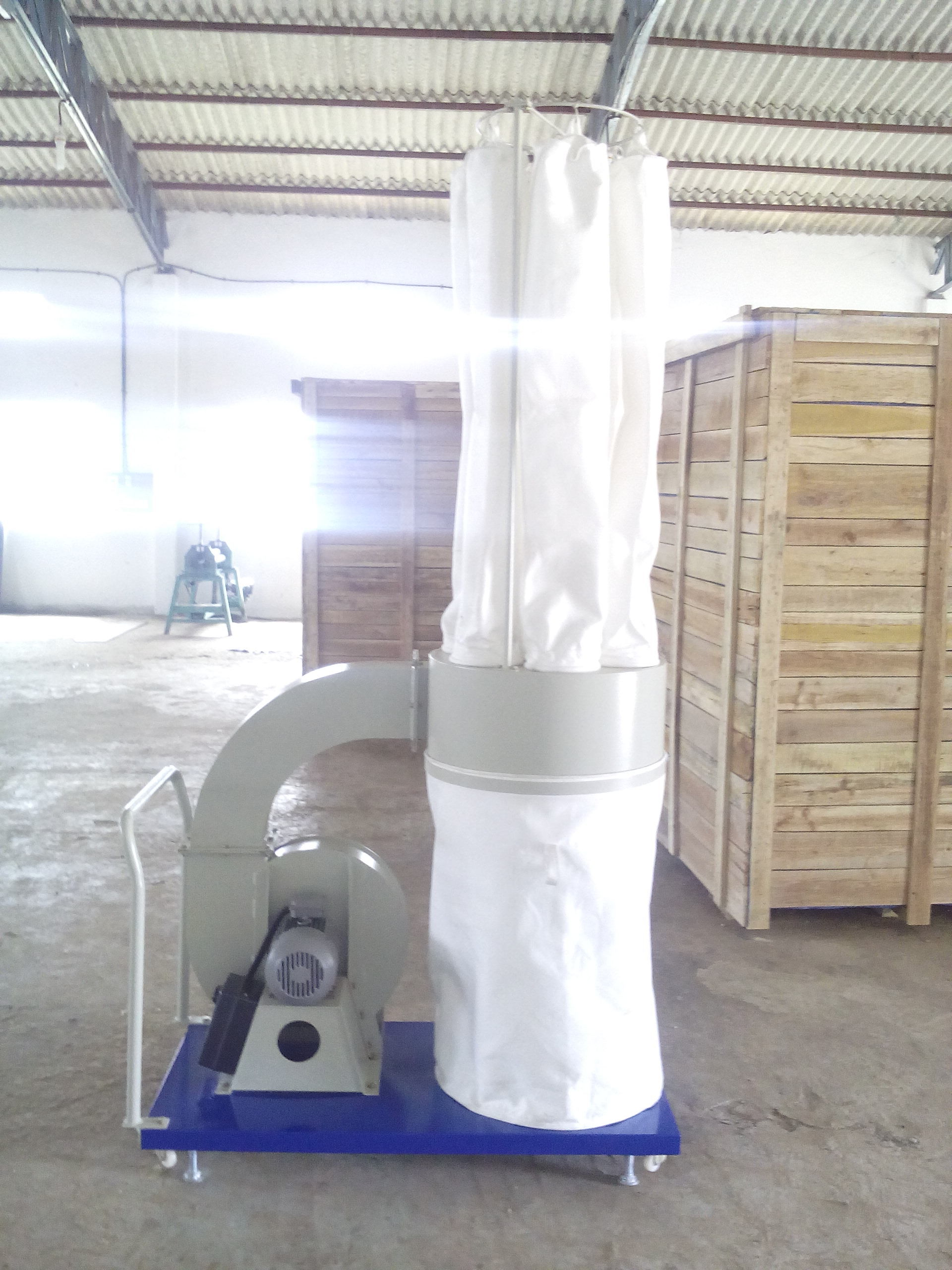 Single Bag Collection Portable Dust Collector