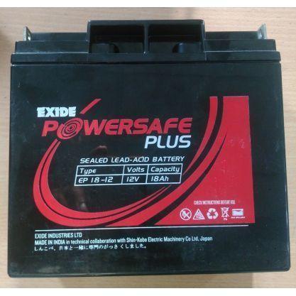 Exide 18 Ah _12V Battery