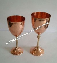 Decorative Copper goblet