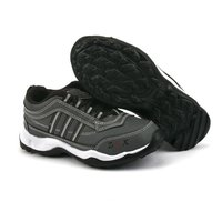 Kids Grey & Black Sports Shoes