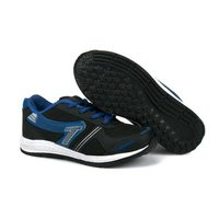 Kids Black R Sports Shoes