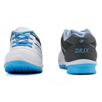 Ladies White & Sky Blue Sports Shoes