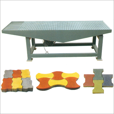 Rubber Mould Paver Plants - Vibrating Table Rubber Mould Paver