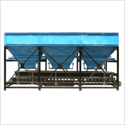 Three Bin Batching Plant 5 Ton Cap
