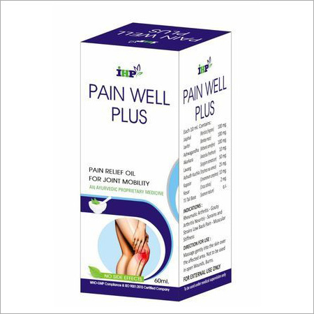 Ayurvedic and Herbal Pain Relief Oil