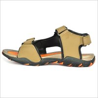 Mens Mouse & Orange Sandals