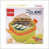 Cello Qube Lunch Box