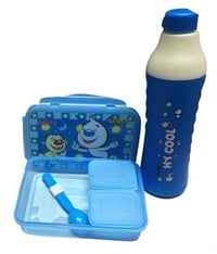 Lunch Box With Bottle Set