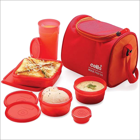 Cello Plastic Tiffin Box Set