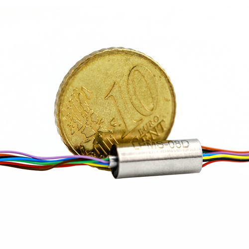 8 Circuits Super Mini Capsule Slip Ring