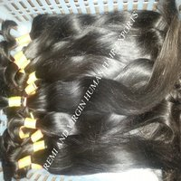 Bulk Hair Extension Type and Remy Hair Hair Grade natural raw indian hair