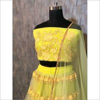 Bollywood Yellow Lehenga Choli