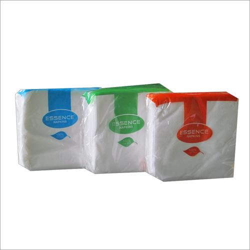 White Napkin Paper