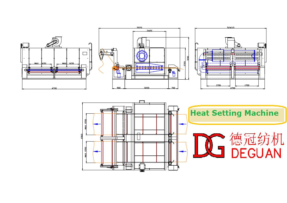 Fabric Heat Setting Machine