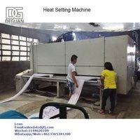 heat setting machine for knitting fabric