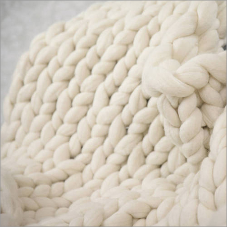 Wool Chunky Throw