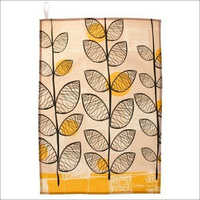 Leaf Printed Tea Towel
