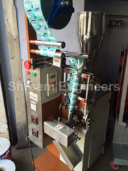 Silica Gel Pouch Packing Machine