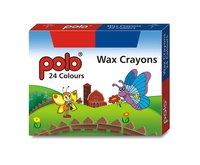 Wax Crayons 24 Colours