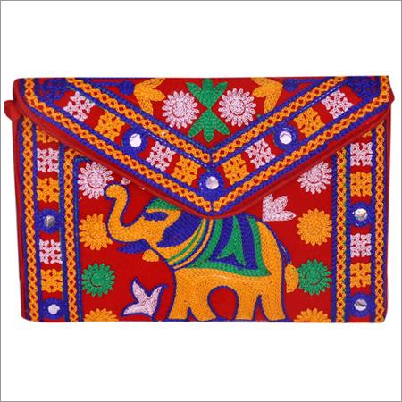 Embroidered Elephant Handbags