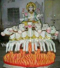 Sun God Statue