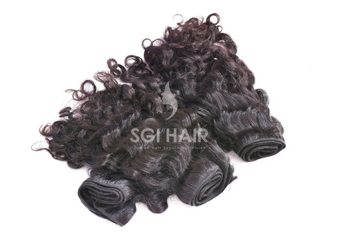 Raw Indian Human Hair Curly