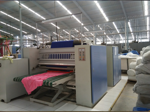 Textile soft calendar machine