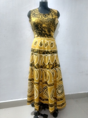 Rajasthani Printed Long Dress
