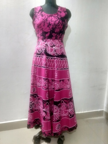Traditional Full Length Jaipuri Maxi Dress
