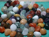 mix colored onyx pebble, precious quality small pebbles for decoration or aquatium